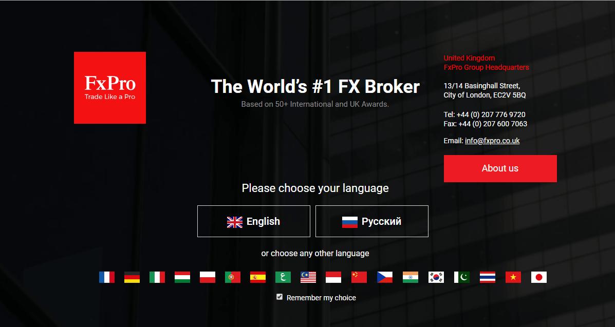 FxPro Broker scam reviews