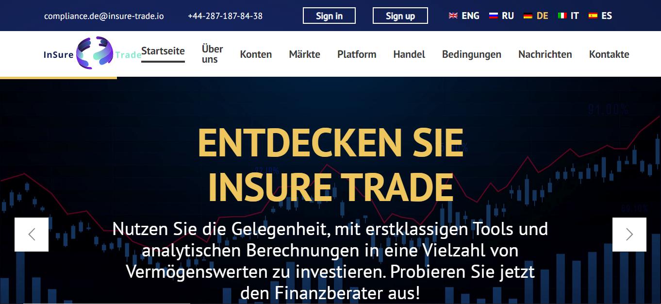 Bewertungen insure-trade.io