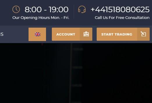 TopTrade broker start trading